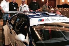 PTG BMW squad is reunited (l-r): Hans Stuck, Tom Milner, Bill Auberlen and Boris Said.
