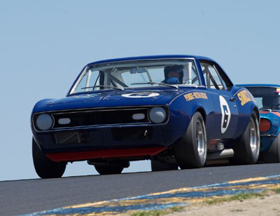 The Unfair Advantage rides again in the hands of Tom McIntyre. [Sports Car Digest image by Dennis Gray]