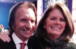 Emmo with Kathy Penske.
