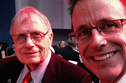 Leo Mehl and son Michael.