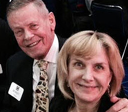 Bobby and Lisa Unser.