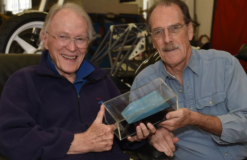 Dan Gurney with John Zimmermann [Ed Justice, Jr. image]