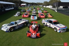 A very special thanks to Sports Car Digest for this shot of Hans Stuck and virtually every racecar he has driven – the lead photograph for the site's feature article on the 2016 Amelia Island Concours d'Elegance. [SportsCar Digest image]