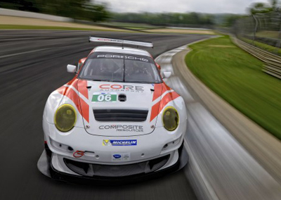 This is Long's ride for the 2013 ALMS season. [CORE autosport image]