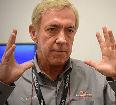 Dr. Steve Olvey – Founding Fellow of the FIA Institute for Motorsport Safety and Medical Director of the F1 Circuit of the Americas – offers some simple steps you can take to make your racing safer. [SIF screen grab]