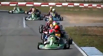 Helmets for young racers fall into two physiological categories by age: six to 11 and 12 to 17. [SIF screen grab]