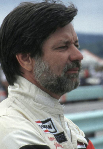 Amos Johnson joins Mark Donohue in the American Motors Hall of Fame. [Team Highball image]