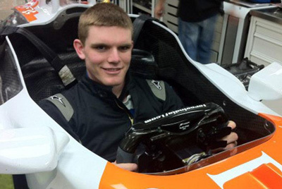 Conor Daly was an early winner in GP3.