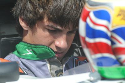 Hobbs' grandson Andrew off to New Zealand. [Andrew Hobbs Racing image]