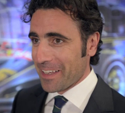 Dario Franchitti has graciously concented to be SAFEisFAST.com's worldwide ambassador. [RRDC Productions screen grab]