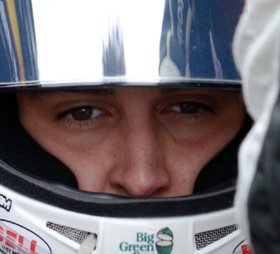 Focus and concentration are key to Graham Rahal's race day. [rahal.com image]