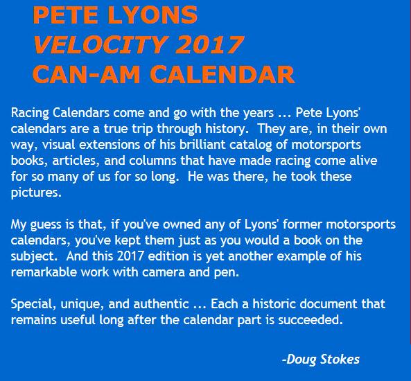 Pe6t Lyons Calendar 2017