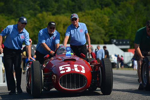 1954 Lancia D50 recreation from the Revs Institute. [Greg Clark and Casey Keil image]