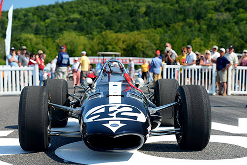 Rob Dyson's 1967 Gurney Eagle IndyCar was one of Skip's Sunday's Best. [Greg Clark and Casey Keil image]