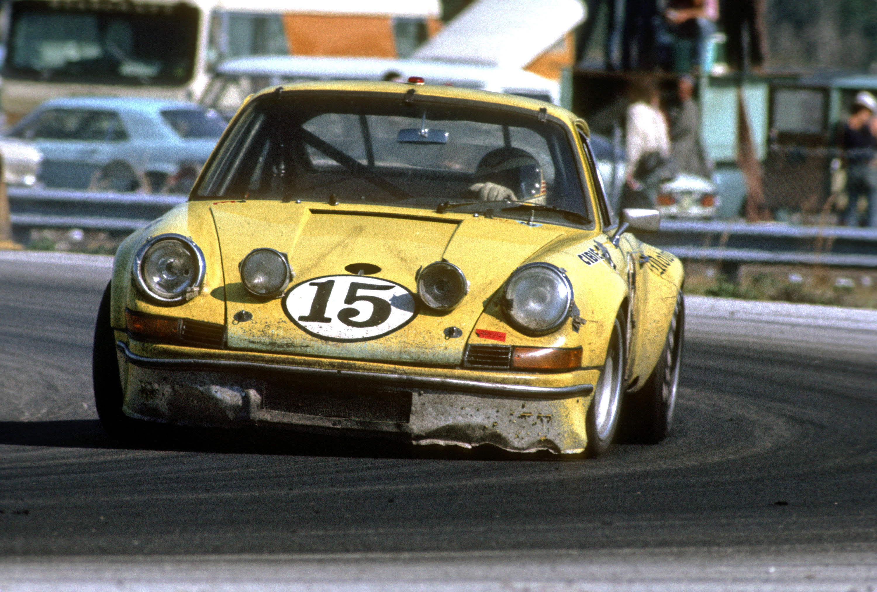 Adamowicz drove this 911 with Michael Keyser and Bob Beasley. [Michael Keyser image]